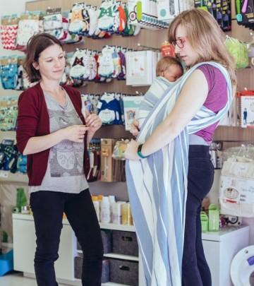 Consulenza on-line sui supporti porta bebé