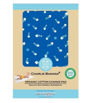 Telo Cambio Charlie Banana in cotone organico - 46x71 cm