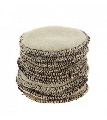 Dischetti struccanti lavabili in cotone biologico Lulu Nature