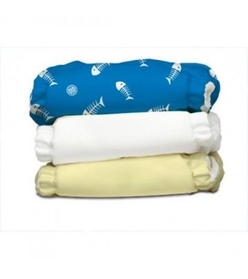 3X Pannolino lavabile Pocket One Size Charlie Banana 2 in 1