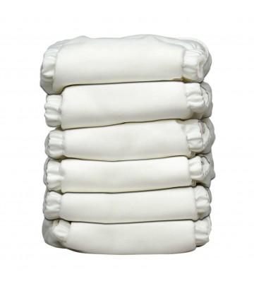 6X Pannolino lavabile Pocket One Size Charlie Banana 2 in 1