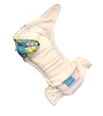 6X Pannolino lavabile Pocket One Size Charlie Banana Organic