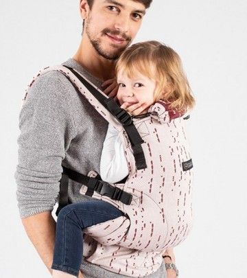 Marsupio Ergonomico Regolabile ISara The One Standard + Toddler