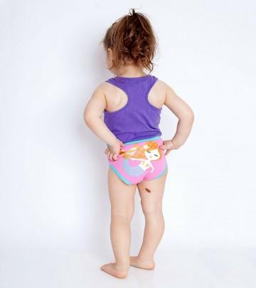 Set mutandine per bambini in cotone biologico Zoocchini 2-3 anni (3 pz.)
