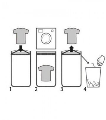Sacchetto di lavaggio per la raccolta delle mircoplastiche Guppyfriend