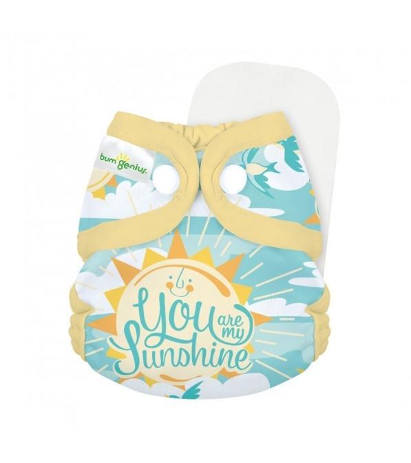 Pannolino lavabile All in One Newborn BumGenius Littles 2.0