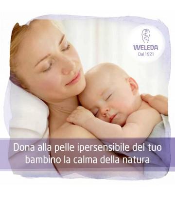 Baby Derma Malva Bianca Crema Fluida Weleda per pelli delicate