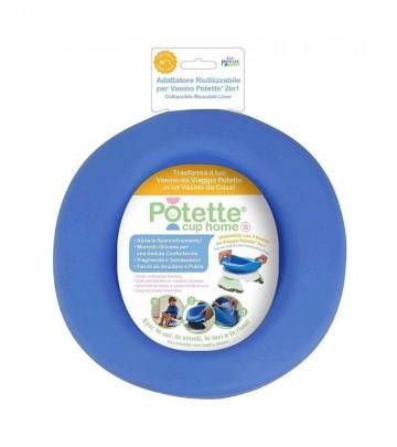 Contenitore in silicone riutilizzabile e ripiegabile per vasino Potette