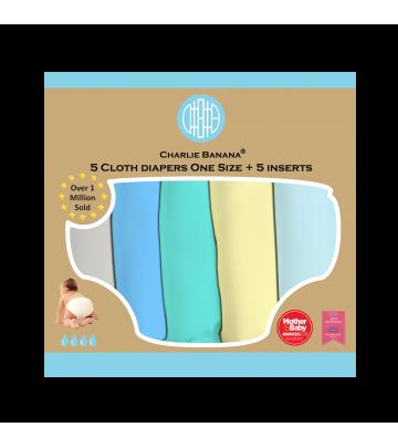 Kit Prova Pannolini Lavabili Charlie Banana