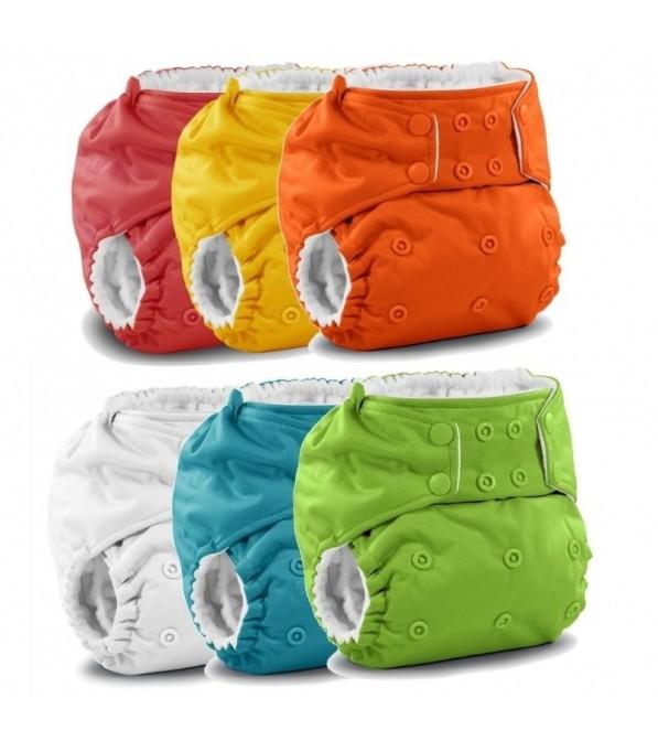 6x Pannolino lavabile pocket Rumparooz One size