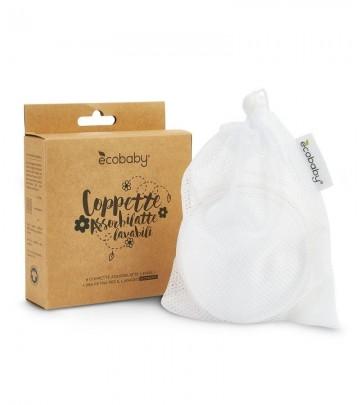 Coppette assorbilatte lavabili Ecobaby - 3 coppie