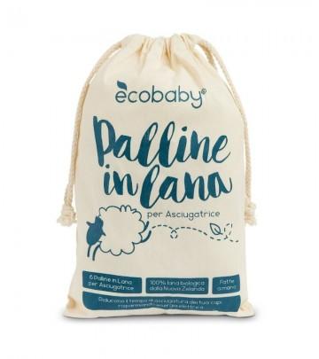 Palline in feltro per asciugatrice Ecobaby