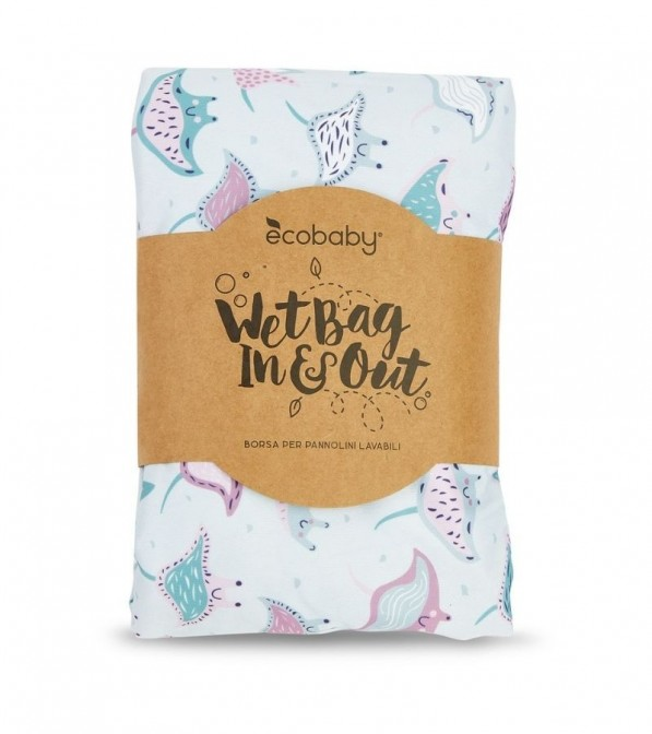 Wet Bag In&Out per pannolini lavabili Ecobaby