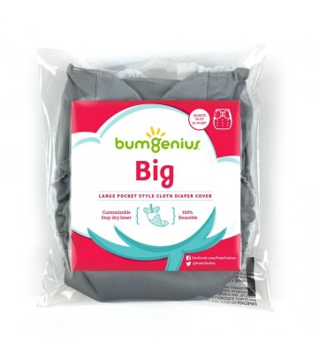 Pannolino lavabile pocket Bumgenius Big - 16-32 kg