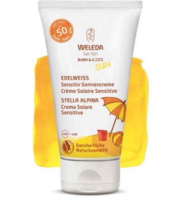 Crema Solare SPF 50 Sensitive Weleda - 50 ml