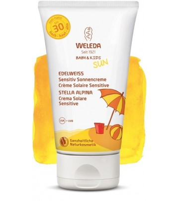 Crema Solare SPF 30 Sensitive Weleda - 150 ml