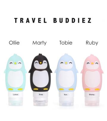 Travel Buddies Bottigliette Ricaricabili Kanga Care