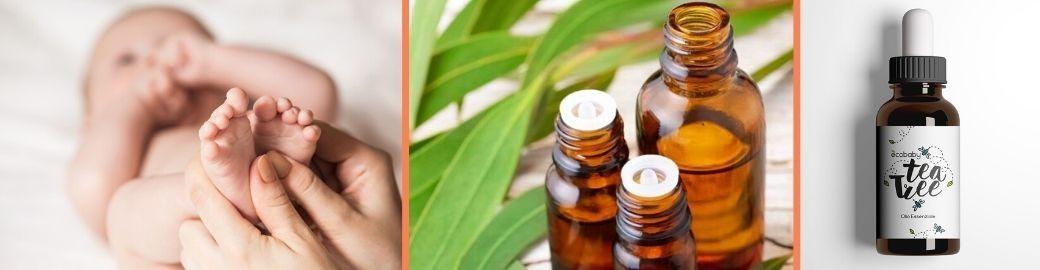 Tea Tree Oil e olio di mandorle al miglior prezzo - Ecobaby